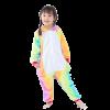 Combinaison Pyjama Licorne Arc En Ciel