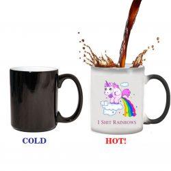 mug licorne thermoréactif | ma jolie licorne