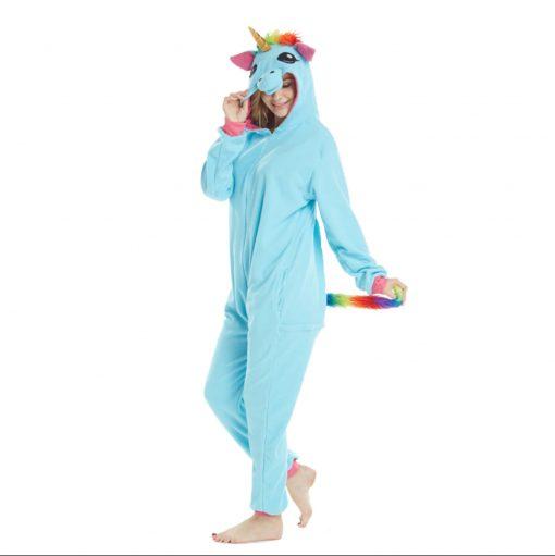 pyjama licorne bleu profil - ma jolie licorne