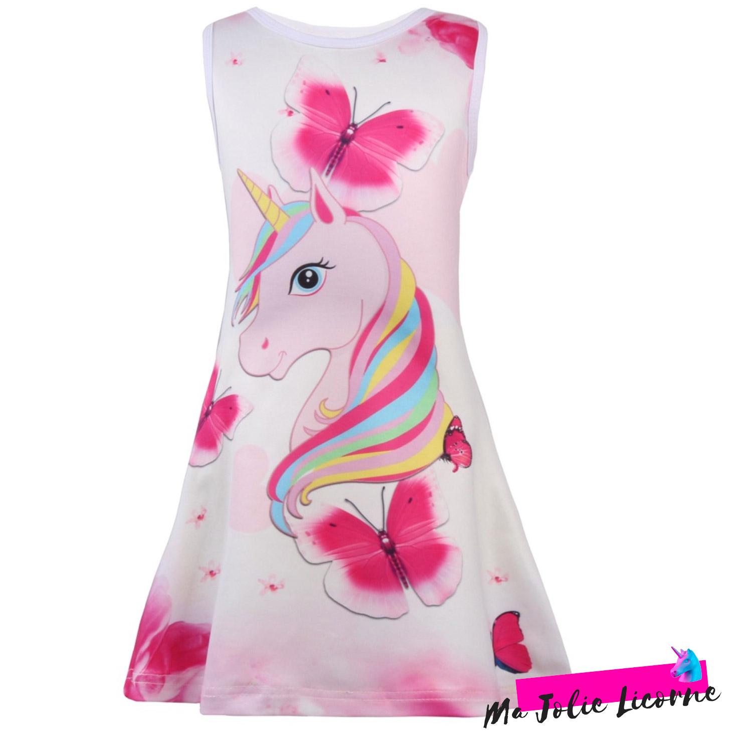 robe motif licorne