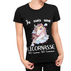 T-Shirt Licorne Je suis Une licornasse