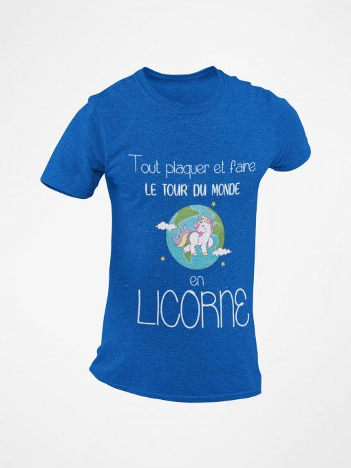 Tout plaquer et faire le tour du monde en licorne bleu
