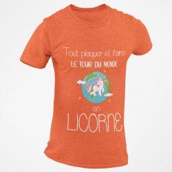 Tout plaquer et faire le tour du monde en licorne orange