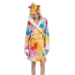 Robe de chambre licorne fille