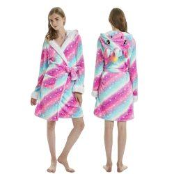 Robe de chambre licorne femme étoiles | Ma Jolie Licorne-