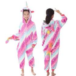 combinaison pyjama licorne fille 10 ans