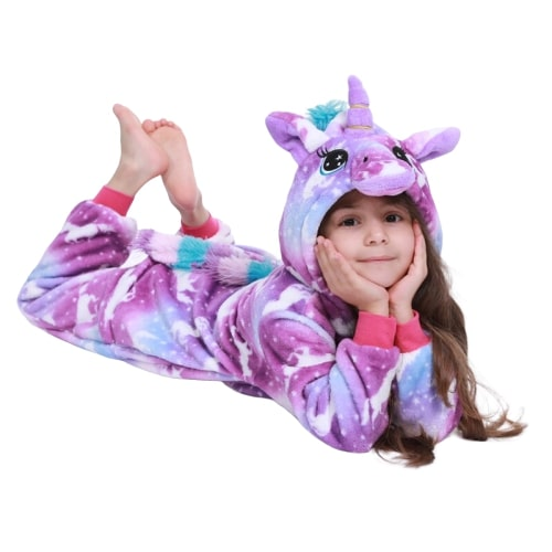 pyjama licorne fille 5 ans-couchée | Ma Jolie Licorne