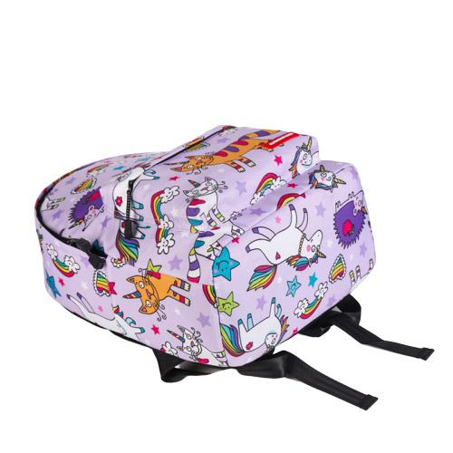 sac à dos licorne pour fille-bleu couché | Ma Jolie Licorne