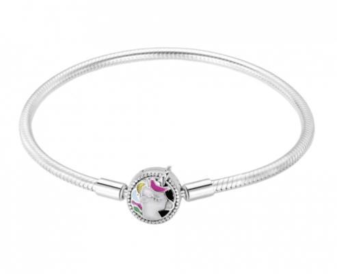 bracelet licorne argent | Ma Jolie Licorne