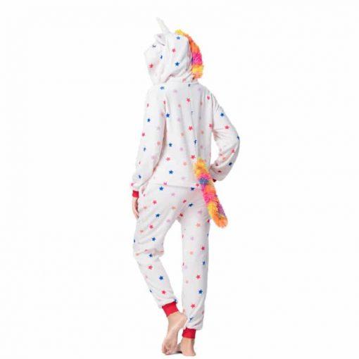 Pyjama licorne sexy de dos