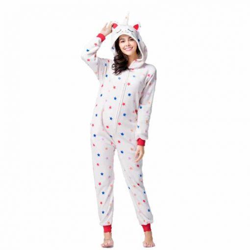 Pyjama licorne sexy de face