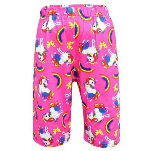pantalon avec motif licorne