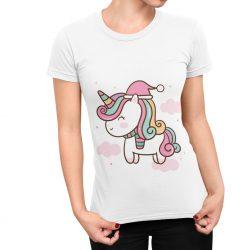 T-Shirt Femme moi folle attends que je descende de la licorne