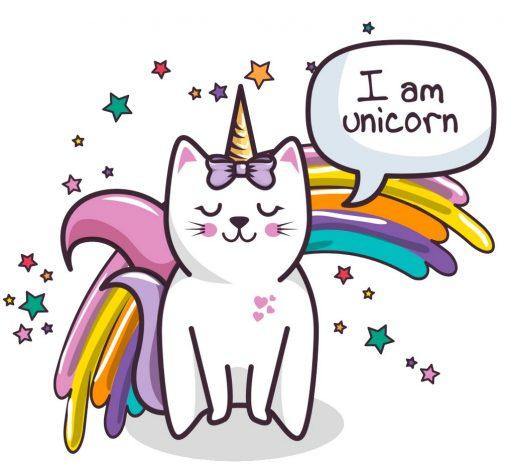 j'aime les licornes et les chats