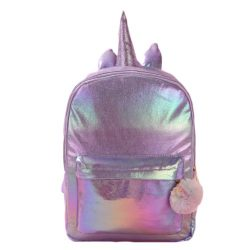 Sac à dos brillant Licorne Rose