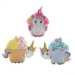 Cup Cakes Licorne
