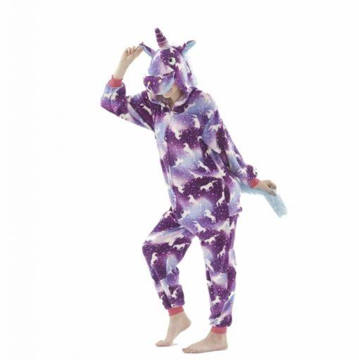 Pyjama Licorne Mauve