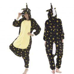 Pyjama Licorne Noir