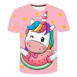 T-Shirt Licorne Pastèque